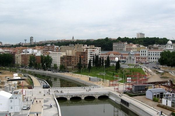 Jardines de Madrid en MadridRío