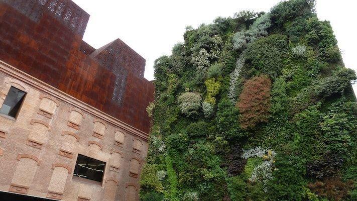 Jardines de Madrid en el Caixa Forum