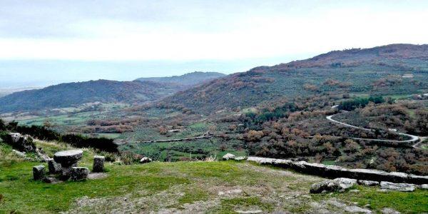 Paisaje para ver en una ruta de 2 días en Sierra de Gata