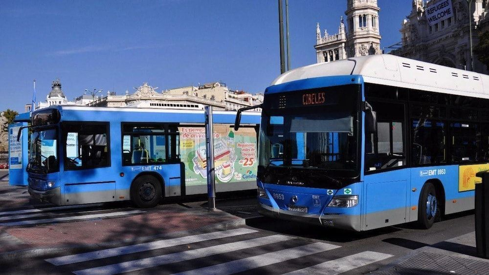 Cómo ir del aeropuerto al centro de Madrid en bus