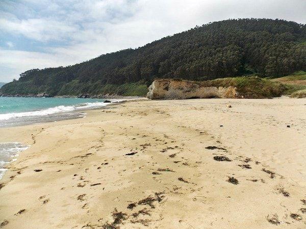 Playa de Xilloi o Vicedo en la mariña occidental