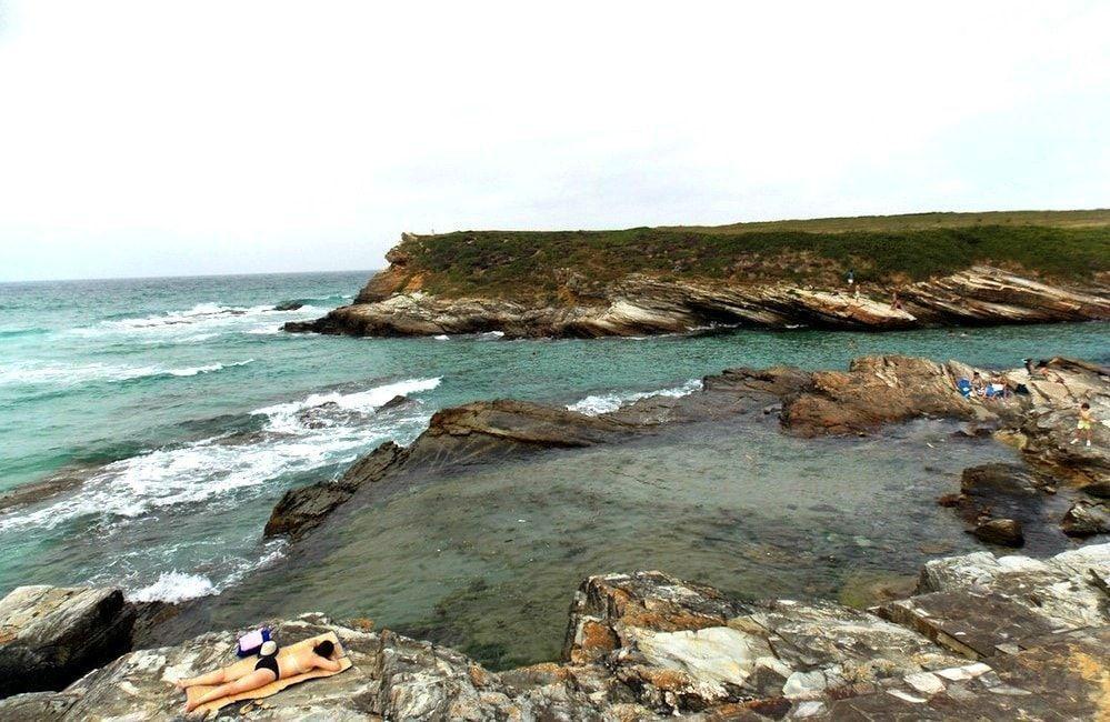 costa oriental en la mariña lucense