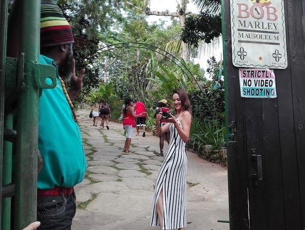 En la casa de Bob Marley en Jamaica