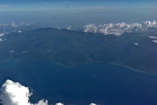 Jamaica antes de aterrizar
