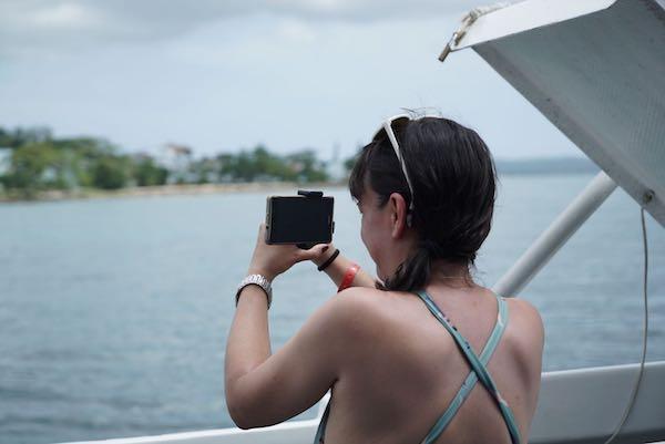 Negril en la costa de Jamaica