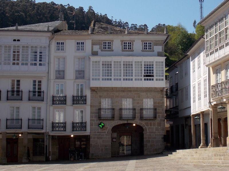 Plaza Mayor de Mondoñedo