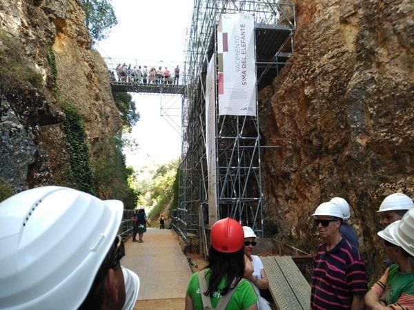 Visita a los yacimientos de Atapuerca