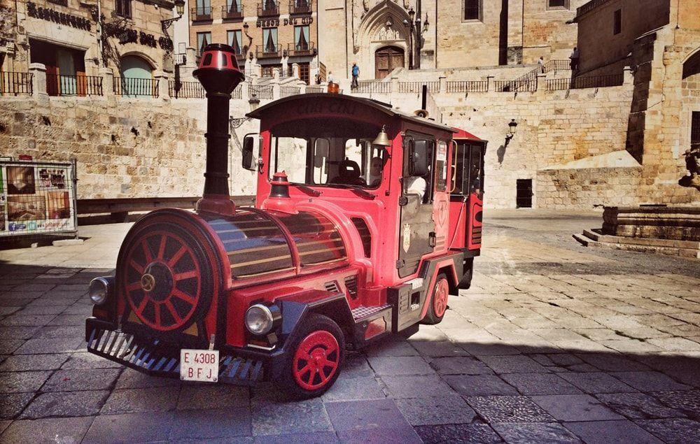 Tren turistico de Burgos