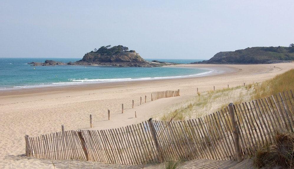 Playas de Bretaña de arena fina