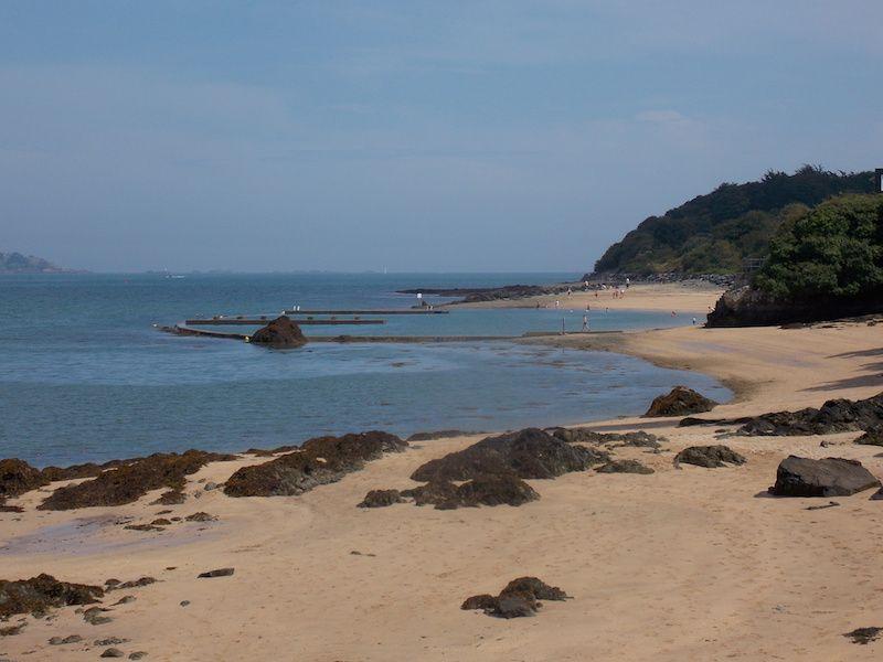 playas de Bretaña acotadas al baño