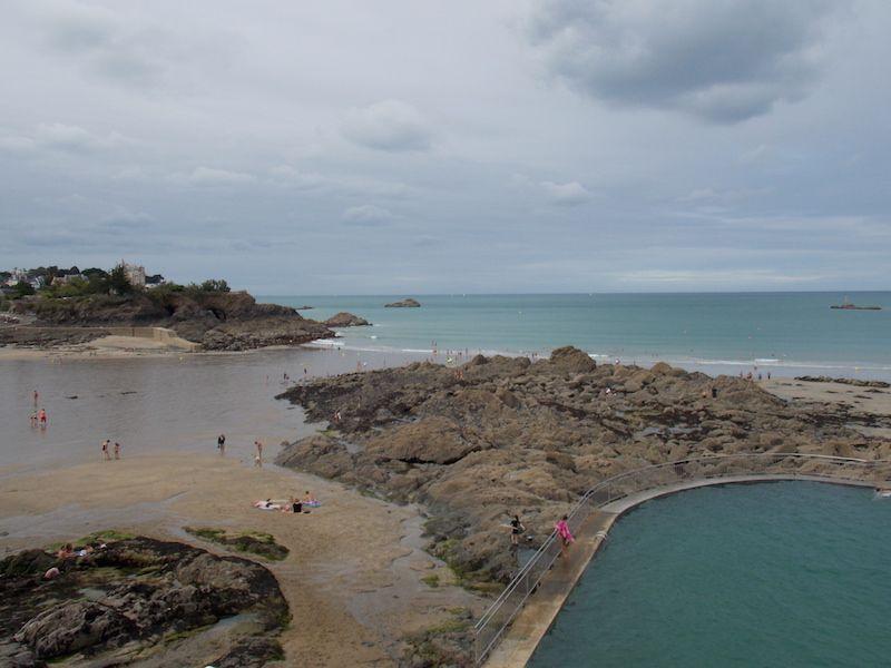 playas de la costa norte de Bretaña
