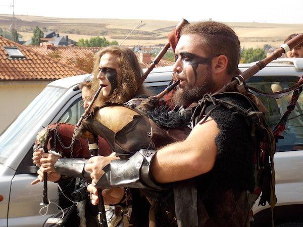 Desfile con música en el fin de semana cidiano