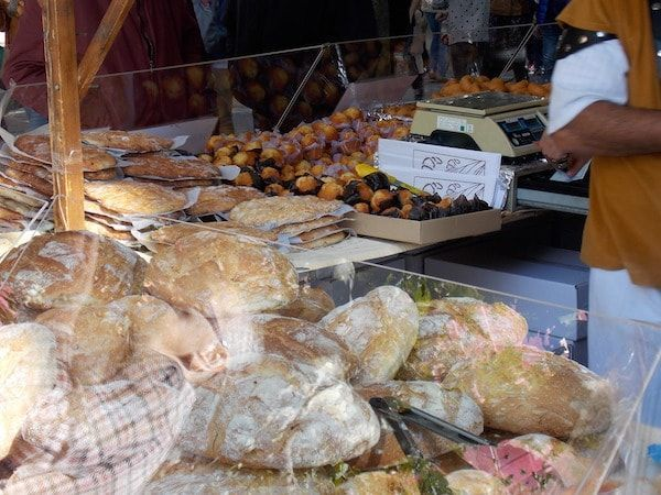 Mercado en el Espolón fin de semana cidiano