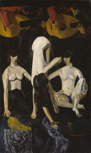 Cabaret, de Per Krohg, Galería Nacional de Oslo