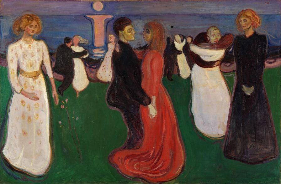 Dance of Life, deEdvard Munch