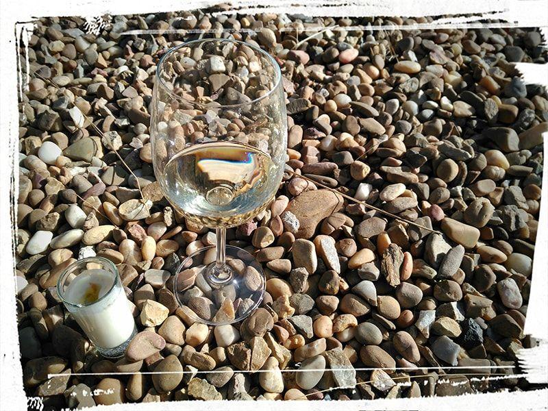 Copa de vino de Centola