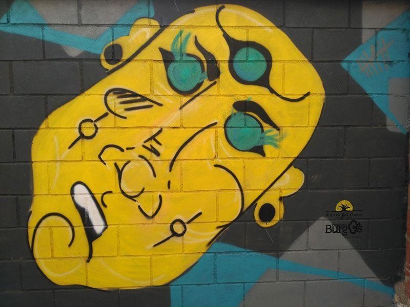 mural mitología