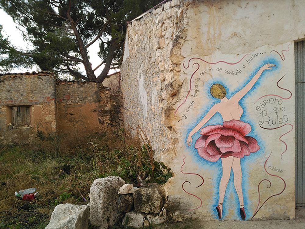 Ruta de murales de Tubilla del Lago