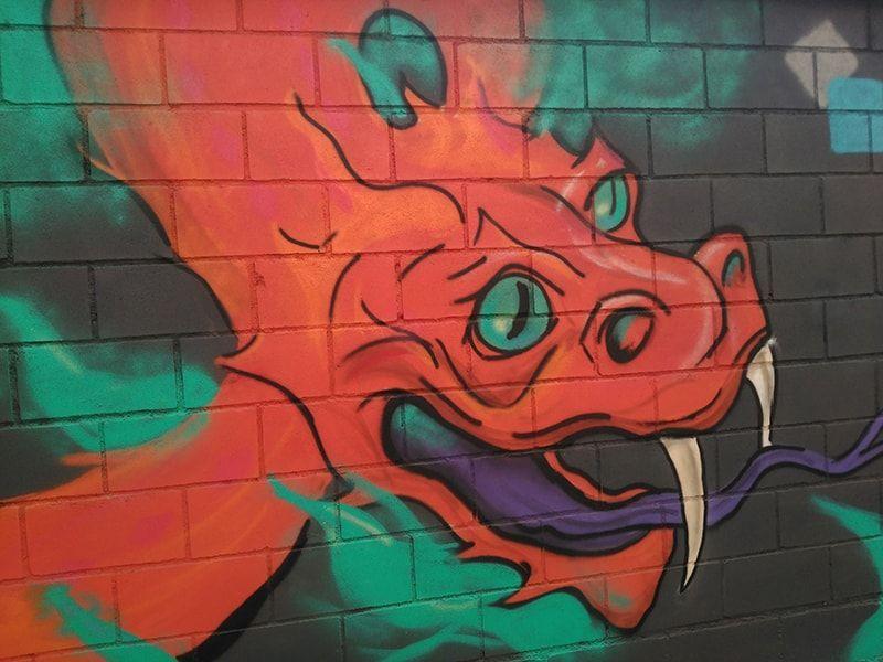 Mural mitologia marcos arrabal