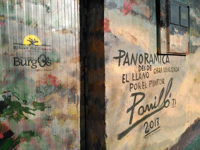 Detalle mural Porrilló