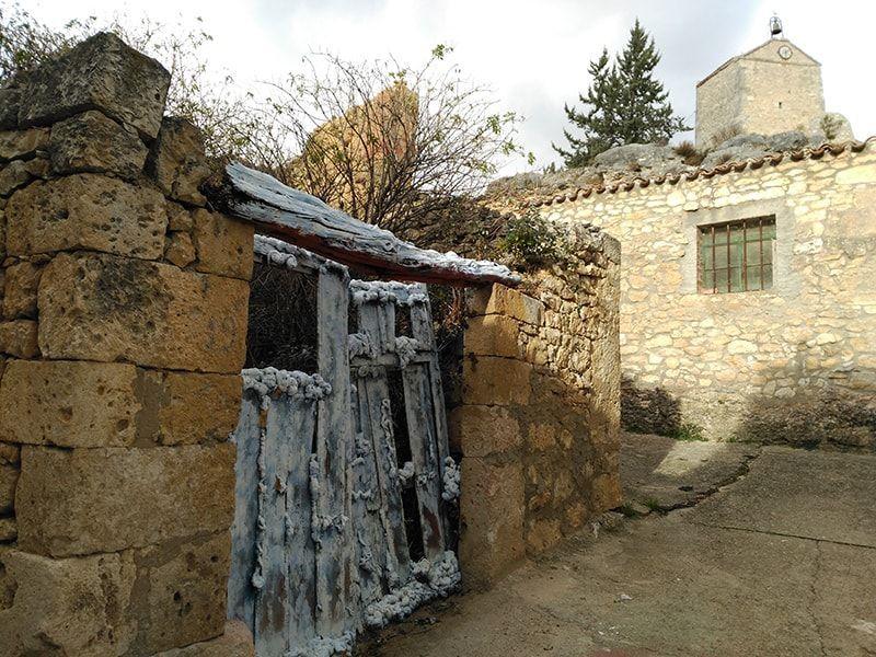mural puerta nevada