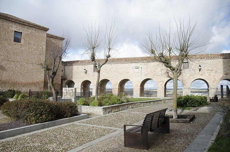 Plaza de Santa Clara en Lerma