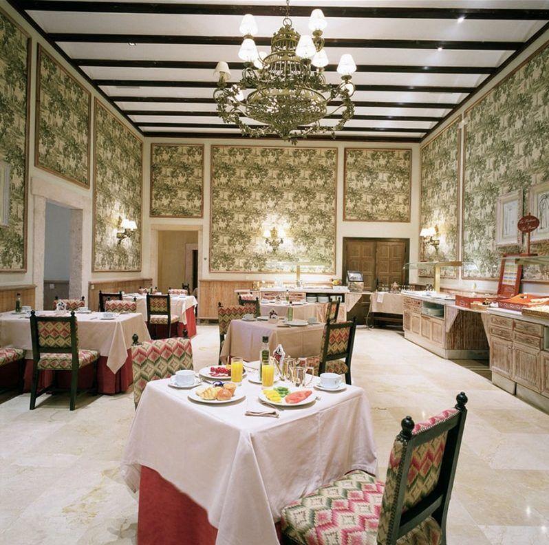 Interior Restaurante Parador de Lerma