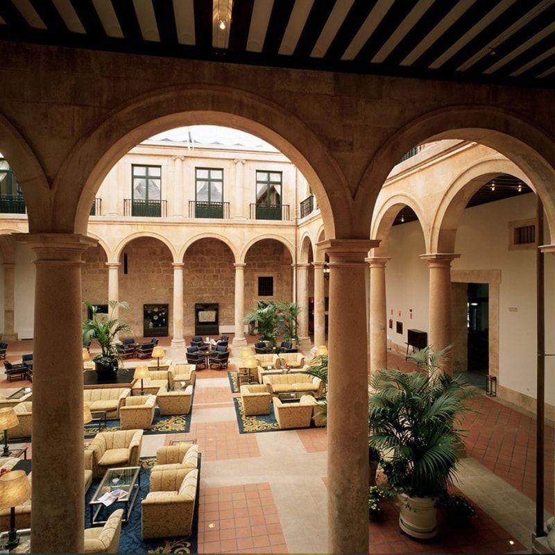 Patio Palacio Ducal de Lerma