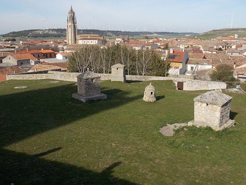 Castillo de Ampudia, vistas