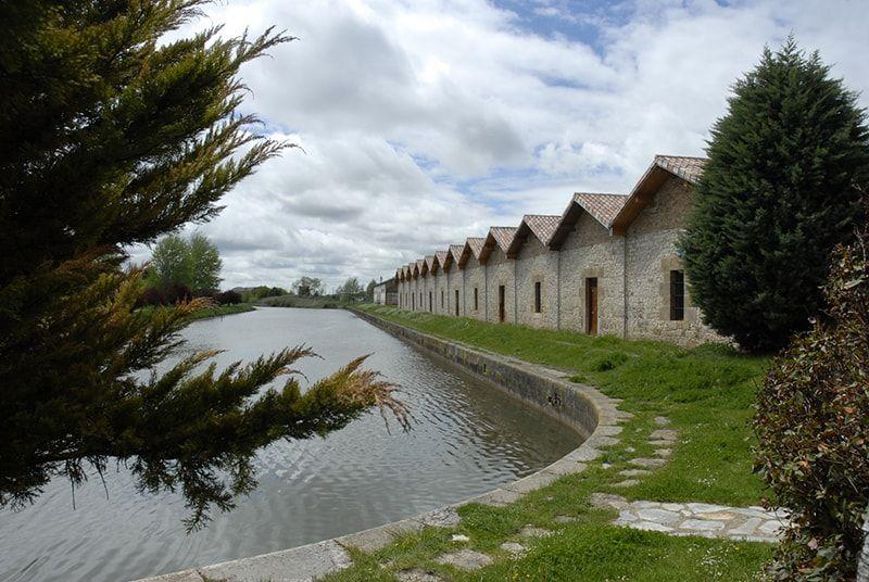 Canal de Castilla, tramo Palencia