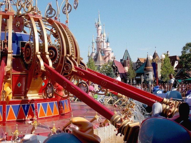 Comprar entradas Disneyland para subir a Dumbo