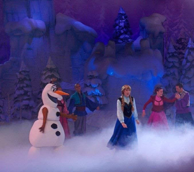 Comprar entradas Disneyland para ver Frozen Sing Along