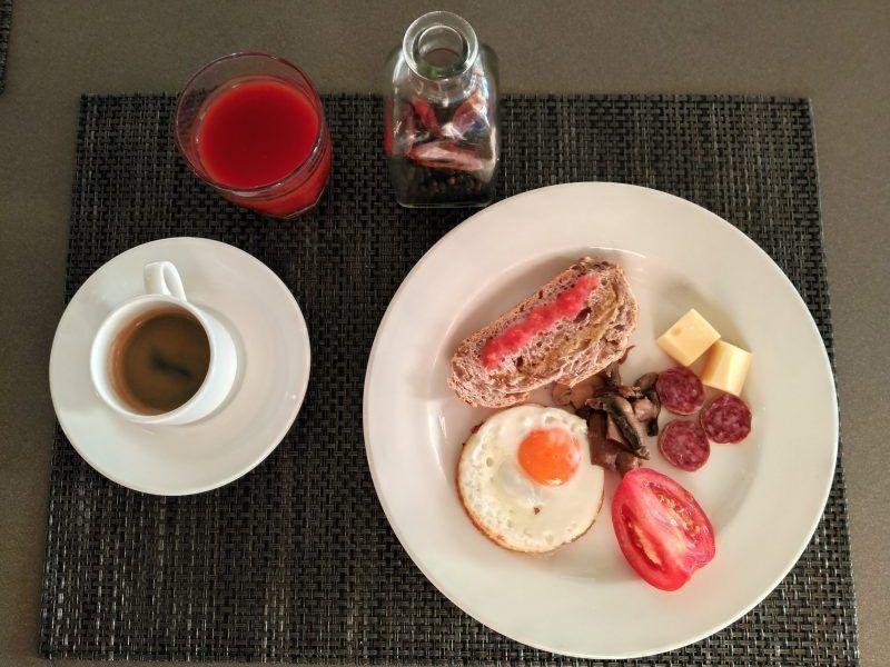 Desayuno en Sol Beach
