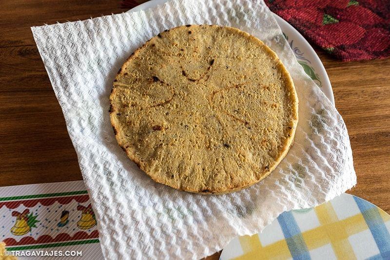 Arepa, gastronomía de Colombia