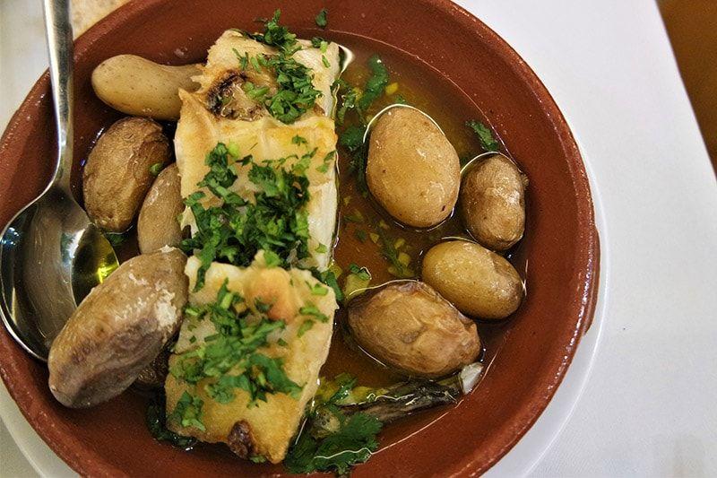 El plato típico de Portugal