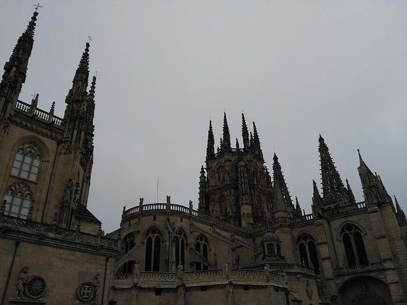 Vista de la Catedral de Burgos