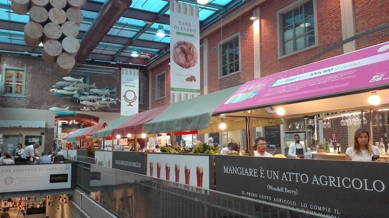 Restaurantes Eataly en nuestra ruta foodie por Turín