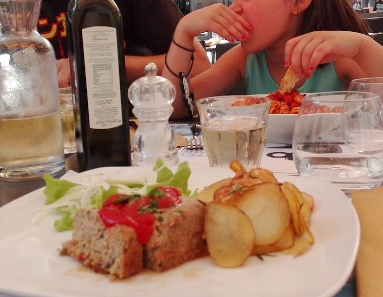 Pastel de verduras en nuestra ruta foodie por Turín