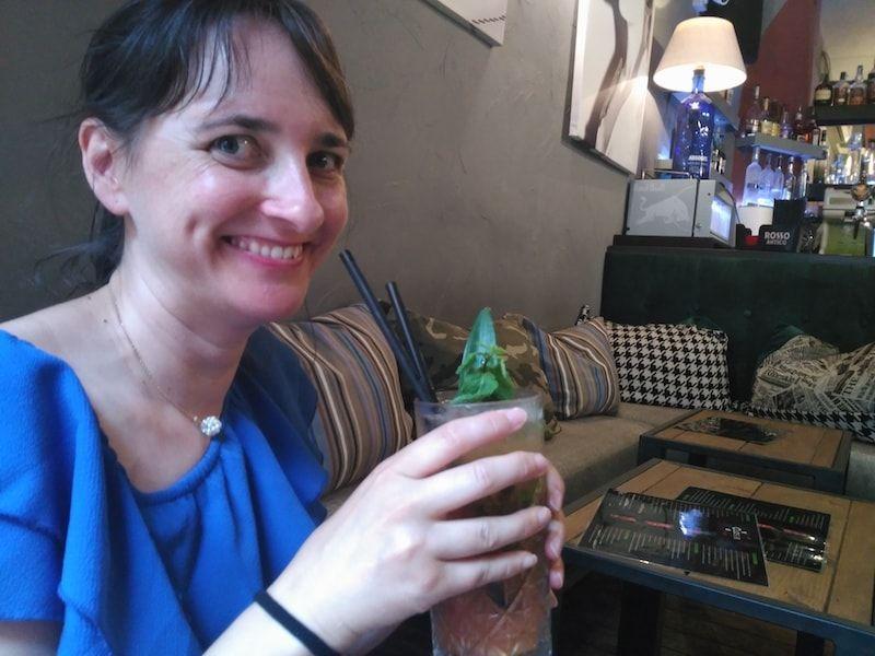 Cocktail en nuestar ruta foodie por Turín