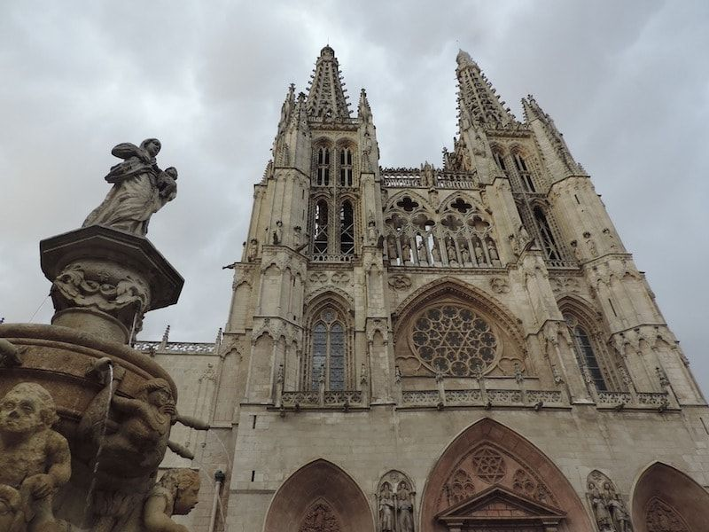 La catedral lugar de la leyenda del papamoscas de Burgos