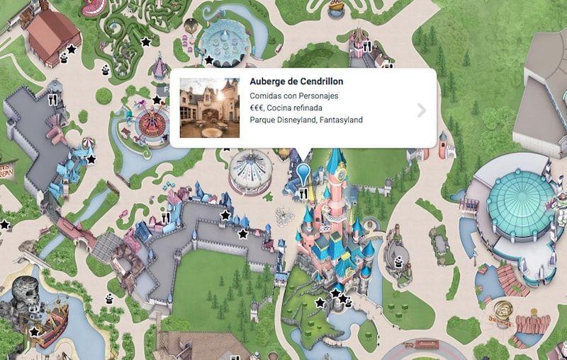 Comer en Disneyland París en Fantasyland