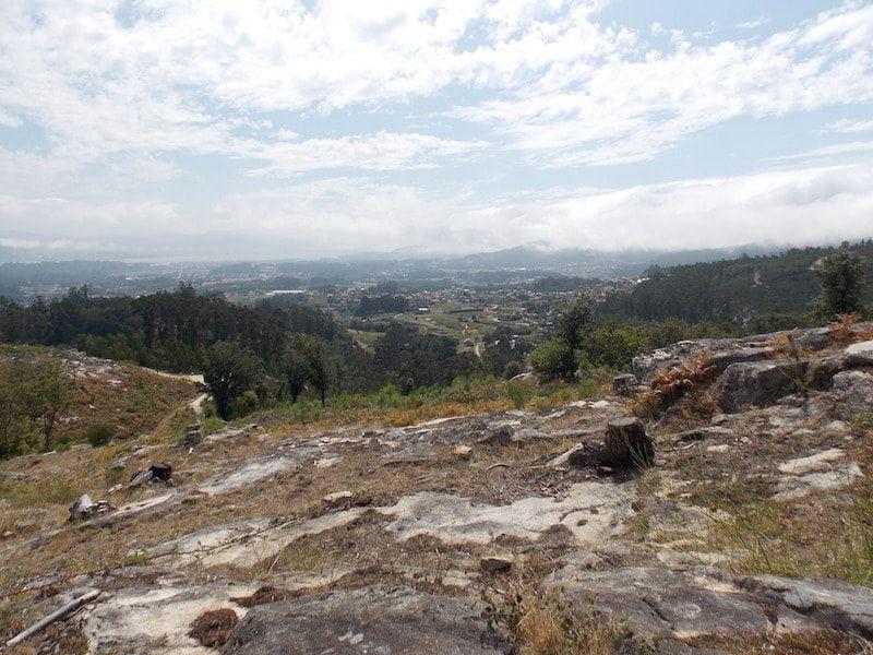 Vistas desde los molinos de Folón plan para hacer en Galicia
