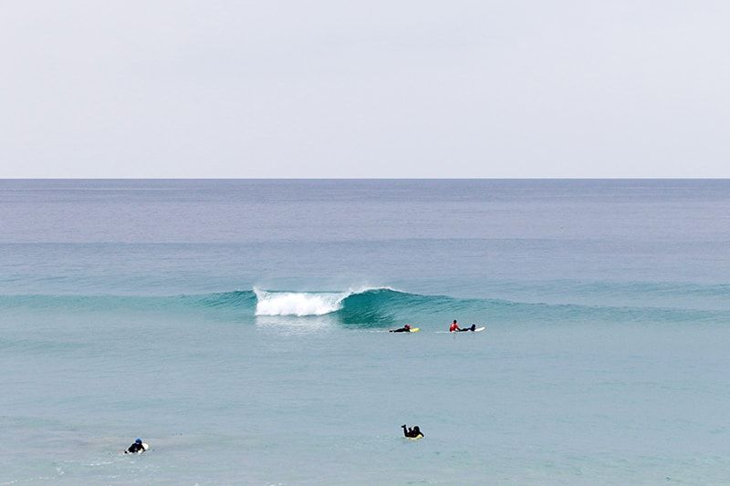 Playa de razo, surf