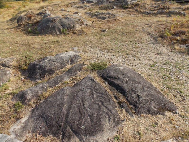 Viajar a Galicia para hacer la ruta de Petroglifos en Pontevedra