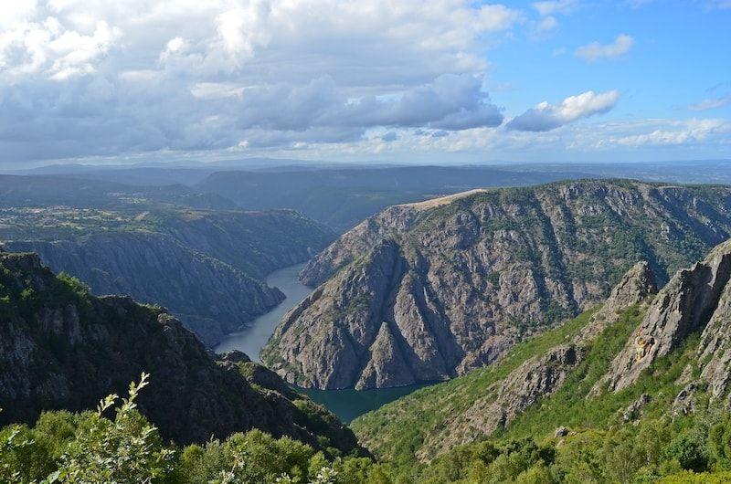 Viajara a Galicia para recorrer el Cañón del Sil