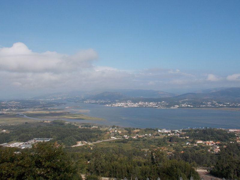 Viajar a Galicia para ver la desembocadura del Miño
