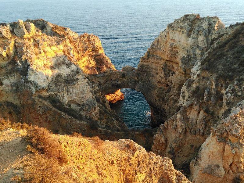 Algar Seco en una visita por Algarve