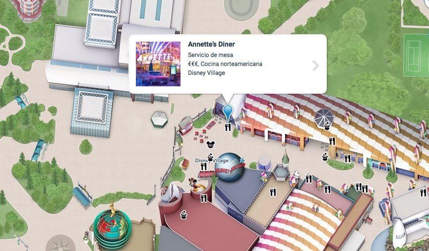 Consejos de donde comer en Disneyland París