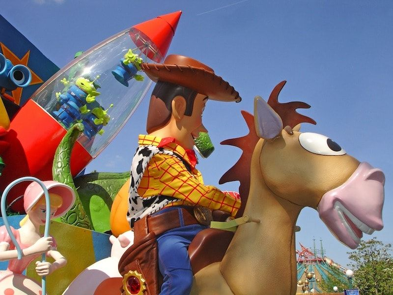 Horarios de los encuentros personaje en Disneyland