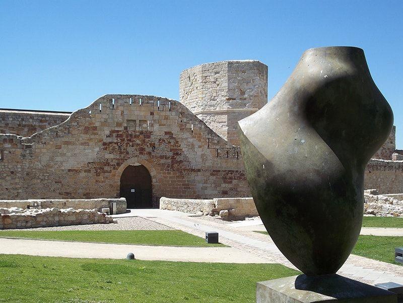 Entrada al Castillo de Zamora